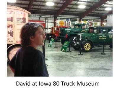 david at truck museum