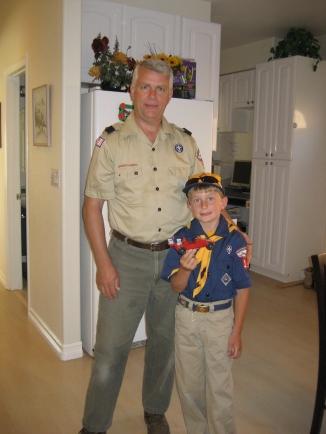 51 cub scouts david and dad.JPG