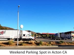 acton parking