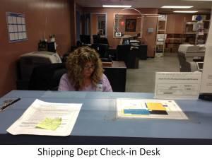 shipping dept