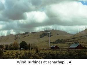 Wind Turbines Tehachapi