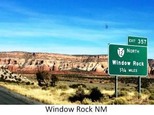 window rock NM