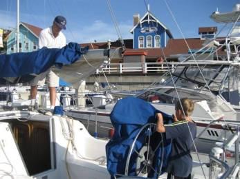 doug david on sailboat