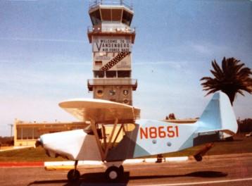 36 flying Vandenberg AFB