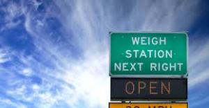 weigh station open