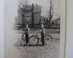 boys with bikes 1950