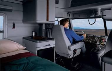 cab interior